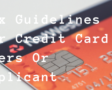 SIX GUILDLINES FOR CREDIT CARDS USER